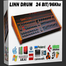 Linn Drum Lin Drum Lindrum Linndrum 24 bit wav 1980's electro funk pop sample
