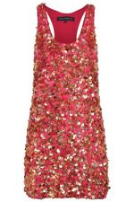 French Connection Heavy Sequin FEMME Party Dress Size 10 *** RARE RRP £250