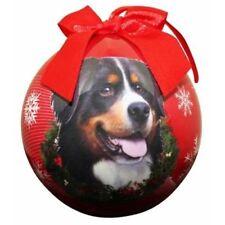 Bernese Mountain Dog Christmas Ball Ornament