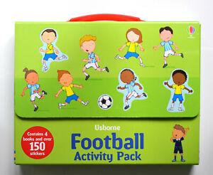 Brand New Usborne Activities: Football Activity Pack