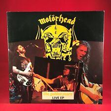 "MOTORHEAD The Golden Years Live 1980 UK 12"" vinyl single EXCELLENT CONDITION"