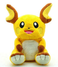Pokemon Raichu Cuddly Plush Toy Stuffed Figure Doll 7 inch