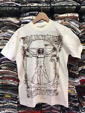 "T-shirt Unisex Leonardo Da Vinci ""Uomo Vitruviano"""