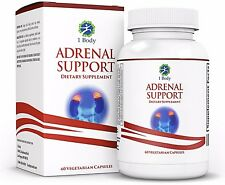 1 Body Adrenal Support Vitamin B12 B5 B6 Magnesium Ginger Root extract