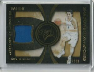 2016 Panini Black Gold Devin Booker Shadowbox Swatches Jersey #/199 #7 Kentucky