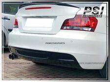 OE Style Carbon Finer Rear Diffuser Add-On Lip for BMW E82 E88 128i 135i 08-13