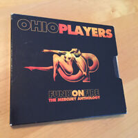 OHIO PLAYERS Funk On Fire: The Mercury Anthology 2 CD SET with Cardboard Sleeve!