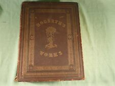 The Complete Works of William Hogarth 150 Engravings Page Fore Edge Pattern Gilt