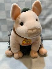"BABE & Fiends Plush Pig Tutu 10"" Stuffed Toy Animal"