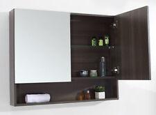 Bathroom Mirror 900mm Medicine Cabinet & Mirror #V9Ash Grey