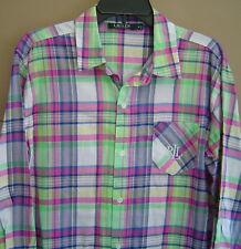 e0ad0d8a05f Lauren Ralph Lauren Women s Check Sleepshirt Sleepwear   Robes for ...
