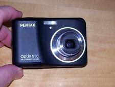 Pentax Optio E75/E90 10.1MP Digital Camera - Black