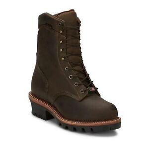 "Chippewa Men's 9"" Arador EH Steel Toe Waterproof Work Boot 25407"