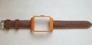 Sony SmartWatch 3 SWR50  BROWN Housing  & Coffee Brown Silicone Strap