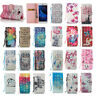 Pattern Leather Wallet Flip Phone Case Cover For Samsung Galaxy S7 Edge/S8+/S9+