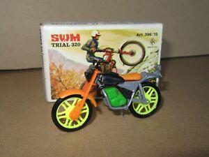 321P Rare CGGC Grisoni N° 396/15 Italy Swm Moto Trial 320 Kit Plastic + Box