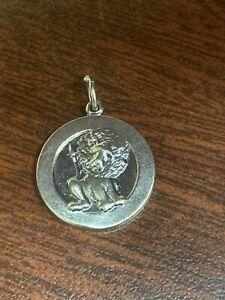 james avery lion 1978 g s cookies sterling silver Retired