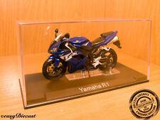 YAMAHA R1 2004 DARK BLUE 1/24 WITH BOX!!! RARE&MINT!!!!