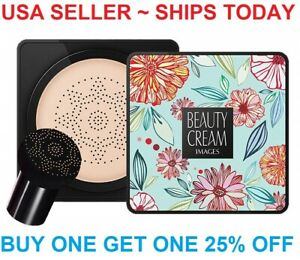 Mushroom Head Air Cushion BB CC Cream Concealer Makeup Foundation Moisturizing