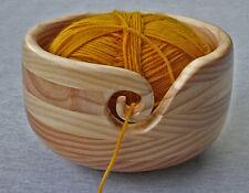 Yarn Bowl Knitting Crochet Pine Six Tier Australian handcrafted gift