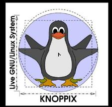 KNOPPIX LINUX - NEW v8.1 Live DVD & 16GB USB Flash Drive with Persistence