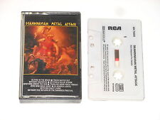 Scandinavian Metal Attack-MC-Cassette-rca NK 70355-Lumière-OZ-trash