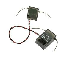DSM2 Receiver + Satellite Spektrum Compatible 6ch.2.4ghz Receptor G-141
