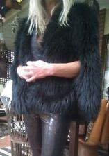 """Sass & Bide """"The Unbreakable"""" Fur Capelet Vest Cape Jacket sz S/M"""