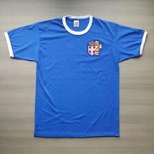 LITTORIO Maglia T-shirt ITALIA Azzurro Nazionale CAMPIONI DEL MONDO Ultras FRUIT