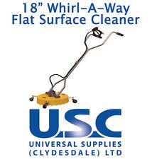Superficie plana giratoria se Whirlaway 18 Limpiador de patio de limpieza de Alimentación Lavadora a Presión