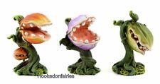 Venus Fly Trap Set of 3 Asst 2 inch MI 50688 Miniature Fairy Garden Dollhouse