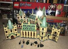 LEGO HARRY POTTER HOGWARTS CASTLE 4842 LOOKS TO BE COMPLETE WITH BOX, FIGURES!!