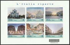 2021 Serie Turistica: l'Italia riparte - Italia - foglietto