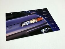 1999 Oldsmobile Alero Intrigue Aurora LSS Eighty-Eight Silhouette Brochure