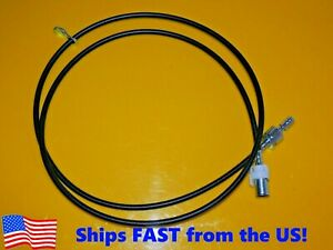 "Ford Mustang Truck Speedometer Cable 95"" Long Wo Speed Sensor Custom Street Rod"