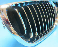 Left Driver Side Front Hood Grill Replace BMW OEM# 5113704296 Chrome Black