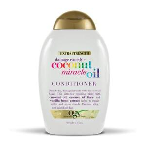 OGX (Organix) COCONUT MIRACLE OIL CONDITIONER 13OZ DAMAGE REMEDY+