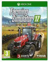 FARMING SIMULATOR 17 2017 XBOX ONE NUEVO PRECINTADO EN CASTELLANO XBOX ONE