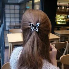 Fashion Women Diamond Butterfly claw clip hair accessories