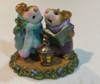 Wee Forest Folk M-173 Silent Night - Purple & Teal | NEW IN BOX , from 1991