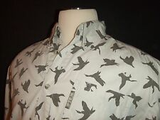 COLUMBIA Button Front Casual Shirt ~ Large