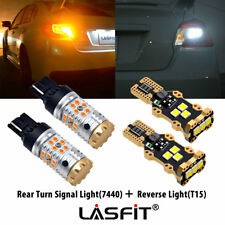 LASFIT LED Reverse +Rear Turn Signal Light 7440 for Toyota Corolla Camry Tundra