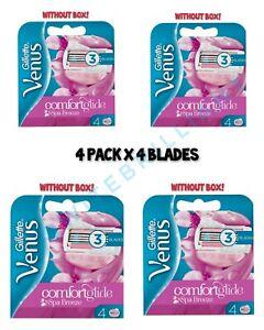 12 BLADES Gillette Venus ComfortGlide Spa Breeze Razor Blades for Women, BOXLESS