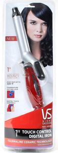 "VS Vidal Sassoon Pro Series 1"" Touch Control Digital Iron Tourmaline Ceramic"