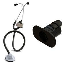 BLACK  Stethoscope Tape Holder - Littmann, Nursing, Scrubs, EMS, EMT Nurse Gift