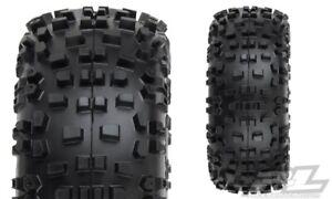 "Pro-Line Badlands 2.8"" Mounted Tires /Wheels Traxxas Stampede Rustler 2wd 4X4"