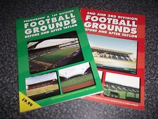 2 Books Football Grounds Premiership 1st 2nd 3rd Division Before & After Taylor