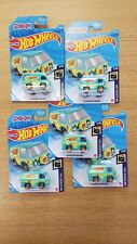 Scooby Doo The Mystery Machine - 2021 Hot Wheels - Lot of 5 - New