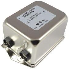Schaffner FN2060-16-06 Netzfilter 250VAC 16A Single-Phase Filter 2-stufig 856781