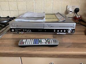 PANASONIC DMR EZ45VEBS VHS DVD COMBI RECORDER HDMI